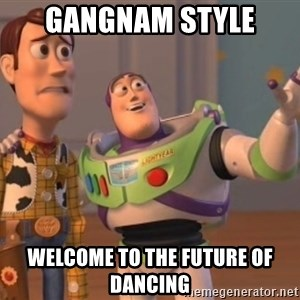 buzz light - gangnam style welcome to the future of dancing