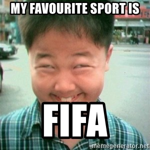 Lolwtf - my favourite sport is fifa