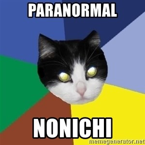 Winnipeg Cat - PARANORMAL NONICHI