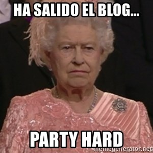 the queen olympics - ha salido el blog... party hard