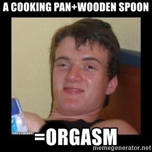 zjarany zbyszek - a cooking pan+wooden spoon =orgasm