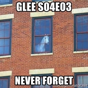window horse - glee s04e03 never forget