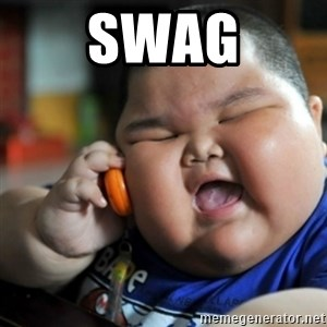 fat chinese kid - swag