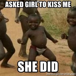 Black Kid - ASKED GIRL TO KISS ME SHE DID