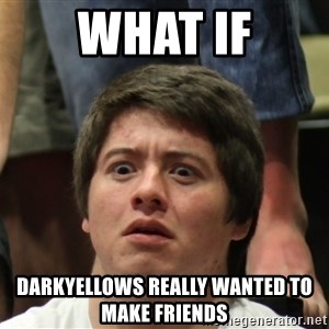 Brony Conspiracy Laurence - what if darkyellows really wanted to make friends