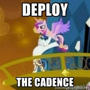 Shining Armor throwing Cadence - DEPLOY THE cadence