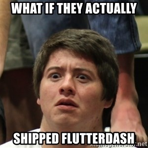 Brony Conspiracy Laurence - What if they actually shipped flutterdash