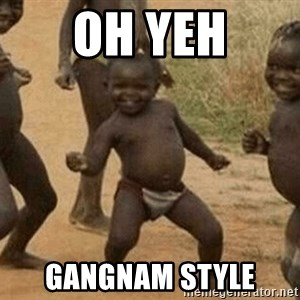 Success African Kid - oh yeh gangnam style