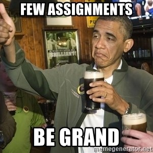 obama guinness - Few Assignments be grand