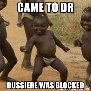 Success African Kid - came to dr bussiere was blocked