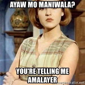 Chantal Andere - Ayaw mo maniwala? you're telling me amalayer