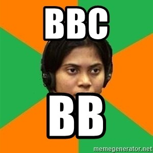 Stereotypical Indian Telemarketer - BBC BB