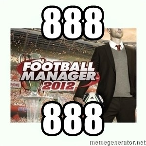 football manager 2013 - 888 888