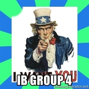 i need you - IB Group 4