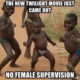 african children dancing - the new twilight movie just came out No female supervision