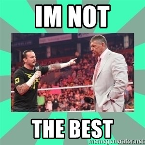 CM Punk Apologize! - IM NOT THE BEST
