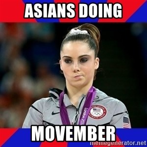 Mckayla Maroney Does Not Approve - AsianS DOING MOVEMBER