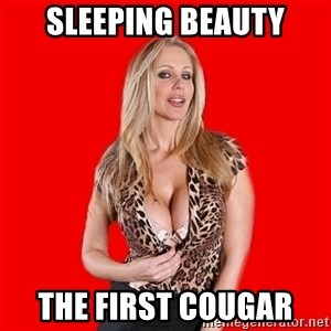 Super Cougar - SLEEPING BEAUTY THE FIRST COUGAR