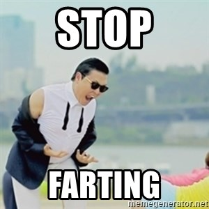 Gangnam Style - STOP FARTING