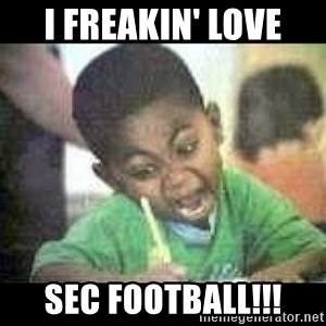 Black kid coloring - I freakin' love SEC football!!!