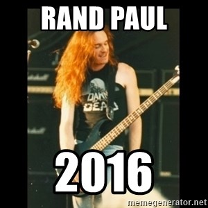 cliff burton - rand paul  2016