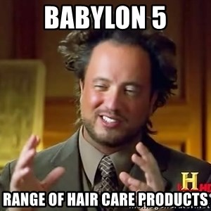 Giorgio A Tsoukalos Hair - BABYLON 5 range of hair care products