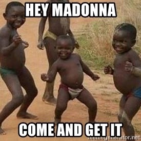 african children dancing - hey madonna come and get it