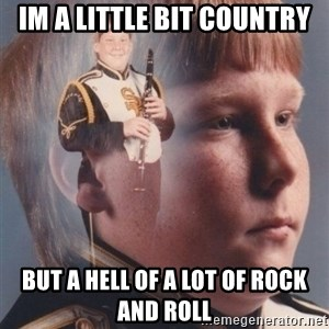 PTSD Clarinet Boy - im a little bit country but a hell of a lot of rock and roll