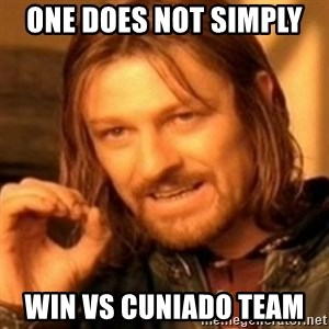 ODN - one does not simply  win vs cuniado team