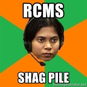Stereotypical Indian Telemarketer - Rcms shag pile