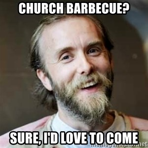Varg Vikernes - church barbecue? sure, i'd love to come