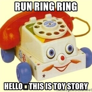 Sinister Phone - RUN RING RING HELLO🎅THIS IS TOY STORY