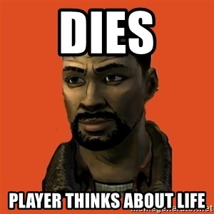 Lee Everett - Dies Player thinks about life