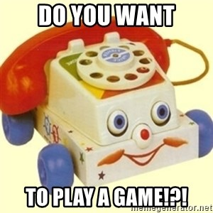Sinister Phone - DO you want to play a game!?!