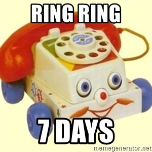 Sinister Phone - RING RING 7 DAYS