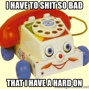 Sinister Phone - I HAVE TO SHIT SO BAD  THAT I HAVE A HARD ON
