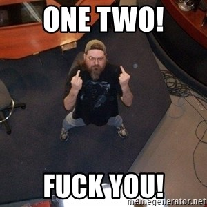 FaggotJosh - One Two!  Fuck you!