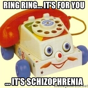 Sinister Phone - RING RING... IT'S FOR YOU ... IT'S SCHIZOPHRENIA