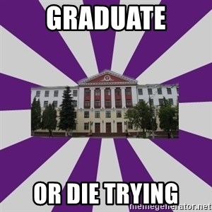 Tipichnuy VGMU - Graduate Or die trying