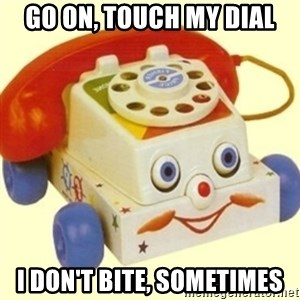Sinister Phone - Go on, touch my dial I don't bite, sometimes