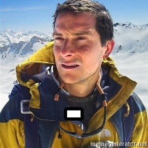 Bear Grylls Loneliness - -
