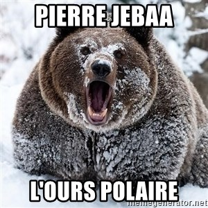 Clean Cocaine Bear - PIERRE JEBAA L'OURS POLAIRE