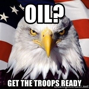 American Pride Eagle - oil? get the troops ready
