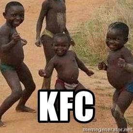 african children dancing - kfc