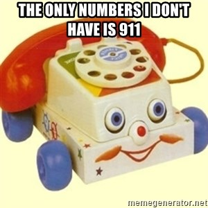Sinister Phone - THE ONLY NUMBERS I DON'T HAVE IS 911