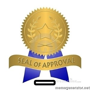 official seal of approval - _
