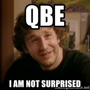 Roy IT Crowd - QBE  I am not surprised
