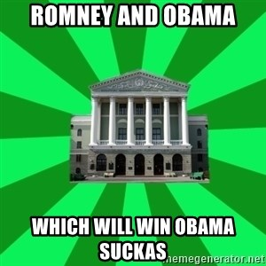 Tipichnuy BNTU - ROMNEY AND OBAMA  WHICH WILL WIN OBAMA SUCKAS