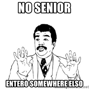aysi - No Senior entero somewhere elso