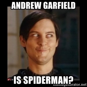 Tobey_Maguire - andrew garfield is spiderman?